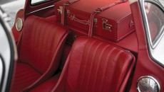 1955 Mercedes-Benz 300 SL Alloy Gullwing red leather seats