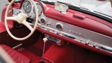 1955 Mercedes-Benz 300 SL Alloy Gullwing interior