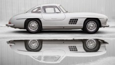 1955 Mercedes-Benz 300 SL Alloy Gullwing exterior