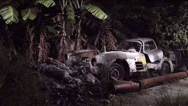 Mercedes 300SL found Abandoned in Cuba