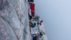 Mike Horn's Pangaea Project mountain climbing
