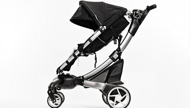 4Moms Origami Stroller, side