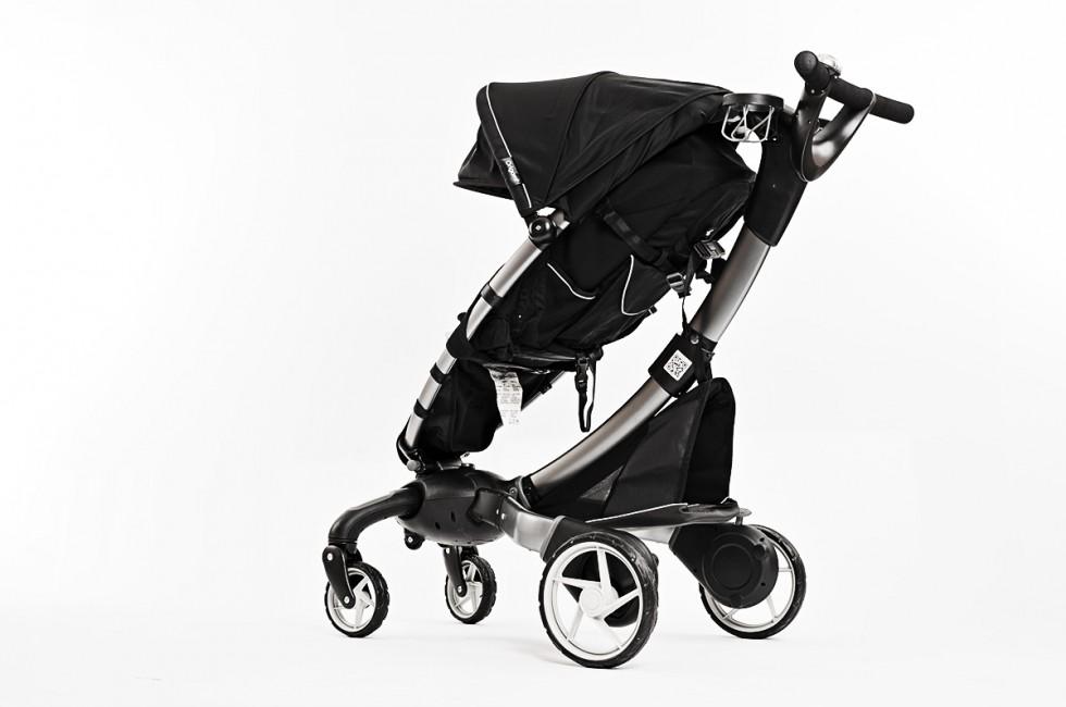 4Moms Origami Stroller, rear