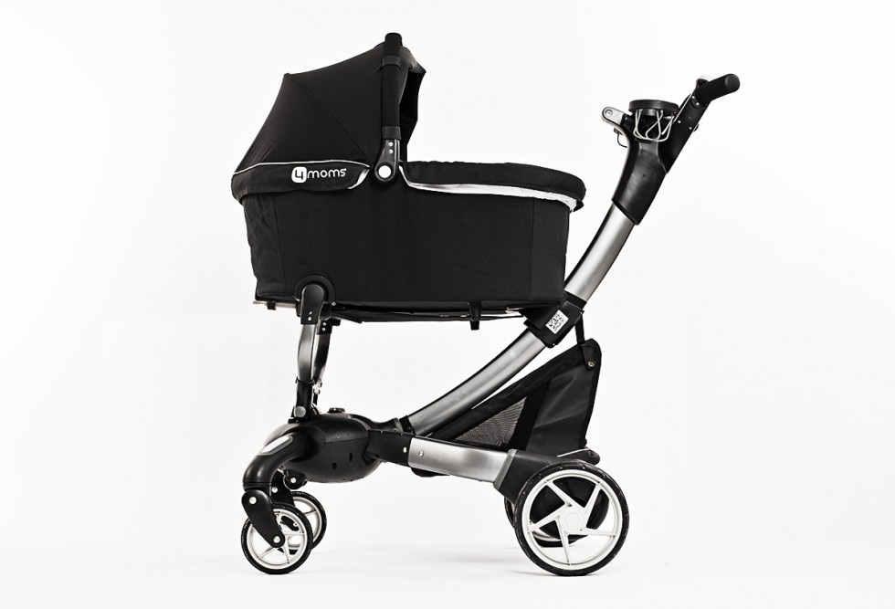 4Moms Origami Stroller with bassinet, side