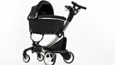 4Moms Origami Stroller with bassinet, rear