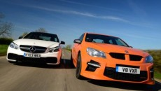 Vauxhall VXR8 vs Mercedes E63 AMG