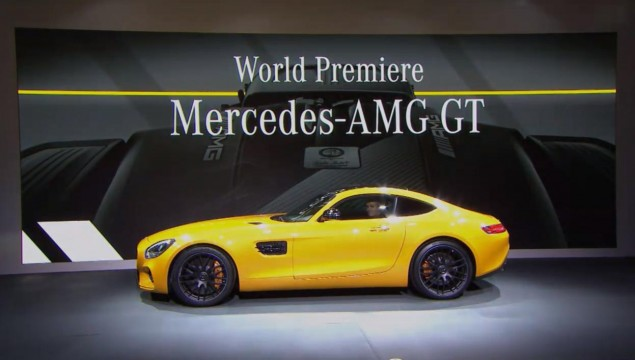 Here It Is - The All-New Mercedes-AMG GT