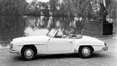 Mercedes-Benz 190 SL (W 121 series, 1955-1963), 1955