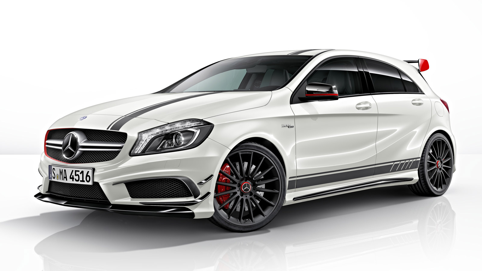 Mercedes A45 AMG Edition 1 Revealed Exterior