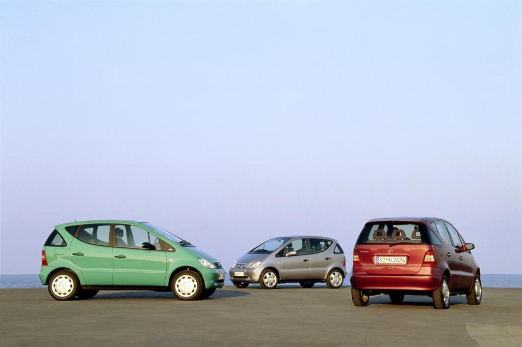Weltpremiere im März 1997: Genial kompakt: 20 Jahre Mercedes-Benz A-Klasse