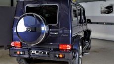 2013 Mercedes G63 / G65 AMG with G Streeline Wide Body Kit A.R.T. rear