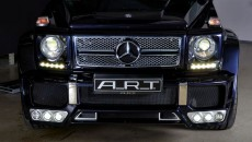 2013 Mercedes G63 / G65 AMG with G Streeline Wide Body Kit A.R.T. grille