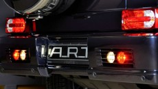 2013 Mercedes G63 / G65 AMG with G Streeline Wide Body Kit A.R.T. tail lights