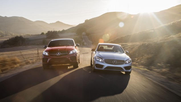 Mercedes-Benz C450 AMG Sedan and Mercedes-Benz GLE450 AMG Coupe