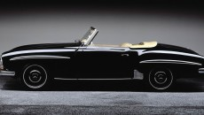 Small and light: The Mercedes-Benz 190 SL (W 121 series, 1955-1963) was initiated by the American importer Maximilian Hoffman.