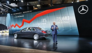 Mercedes-Benz at 2015 Auto Shanghai