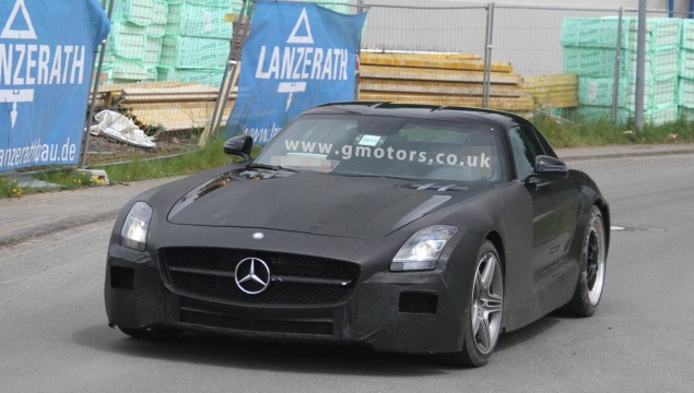 Mercedes SLC AMG Spy Photo