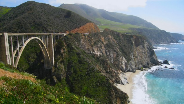 Driving Big Sur will take you along the coast for 123 miles and will be one of the top drives of your life. The historic route starts in Monterey and winds its way along Pacific Coast cliffs while passing legendary sites like the Hearst Castle before making its way to Morro Bay.