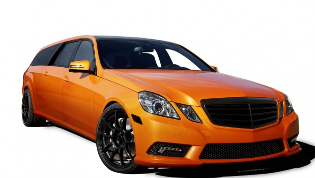 Mercedes-Benz E-Class Estate Binz Xtend orange