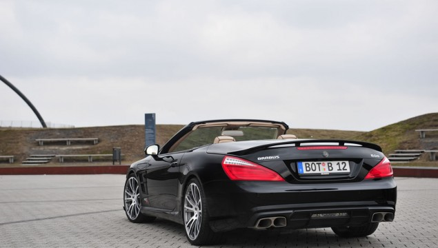 Brabus 800 Roadster Mercedes SL65 AMG rear