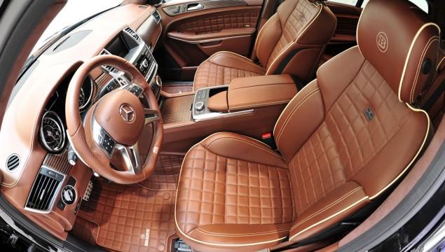 Mercedes GL63 AMG Brabus Interior