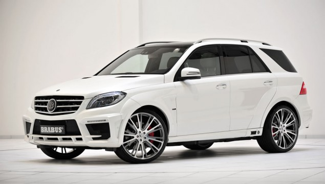 BRABUS B63S - 700 WIDESTAR based on the Mercedes ML 63 AMG