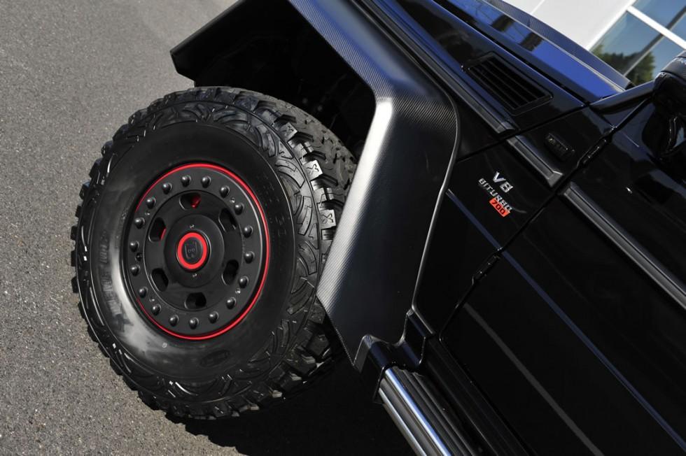 BRABUS B63S - 700 6x6  Mercedes G 63 AMG Wheel