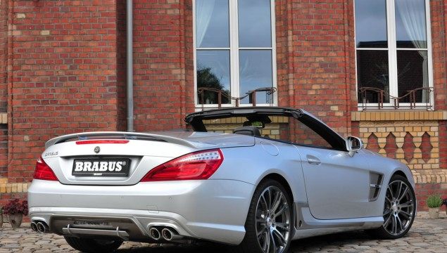 Brabus Mercedes SL Roadster rear exterior