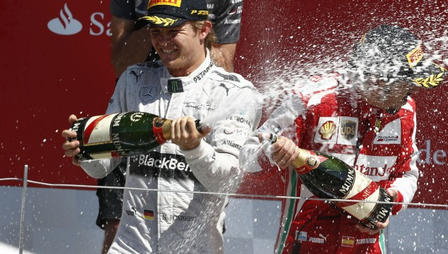Nico Rosberg Wins the 2013 British Grand Prix
