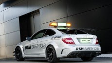 2013 Mercedes C63 AMG Coupe Black Series exterior safety car dtm
