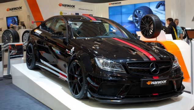 Mercedes C63 AMG Black Series Coupe transformed into the Black Barron by German Tuner, TIKT