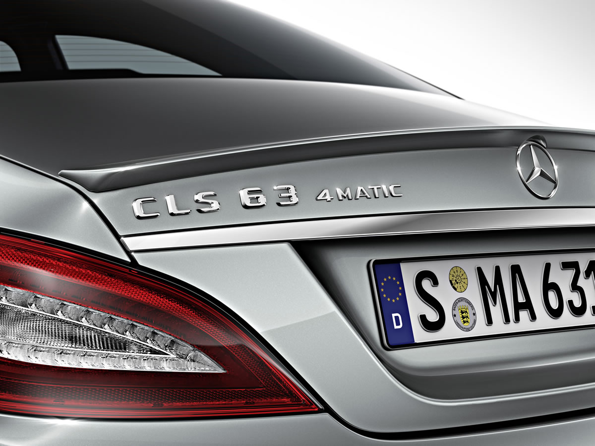2014 CLS63 AMG Badge