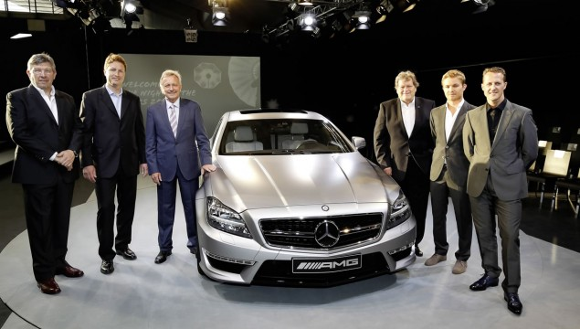 Night of the Stars: CLS 63 AMG Shooting Brake at the German Grand Prix