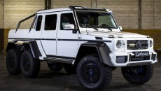 The aftermarket geniuses at Carlsson showed off their new powerkit for the Mercedes G63 AMG 6x6