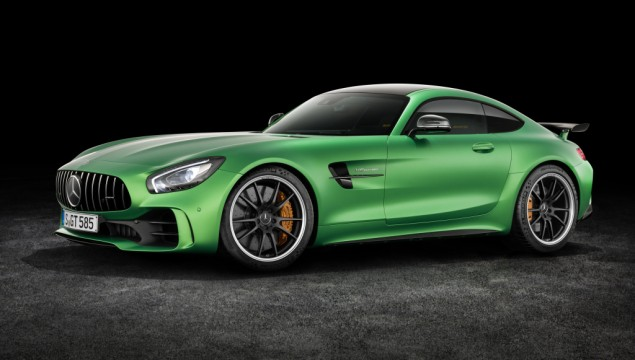 The New Mercedes-AMG GT R: Photo Gallery