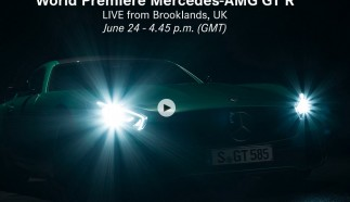 Live stream: World Premiere Mercedes-AMG GT R