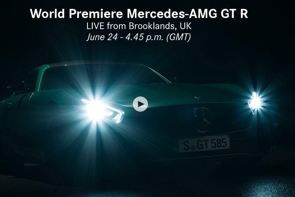 Weltpremiere Mercedes-AMG GT R