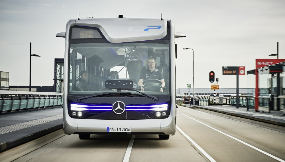 Mercedes-Benz Self-Driving Bus of the Future