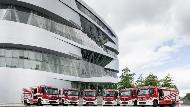 In Germany, Even the Firetrucks are Mercedes