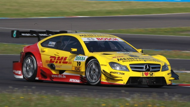 David Coulthard, DHL Paket Mercedes AMG C-Coupé
