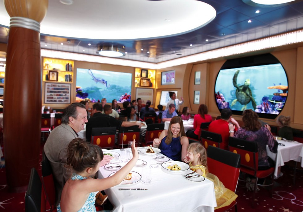 Disney Dream Cruise Animators Palate Restaurant