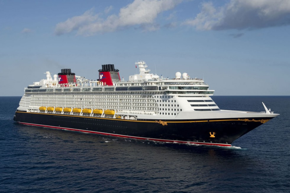 Disney Dream Cruise Ship Exterior