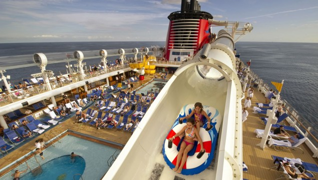 Disney Dream Aquaduck Waterslide