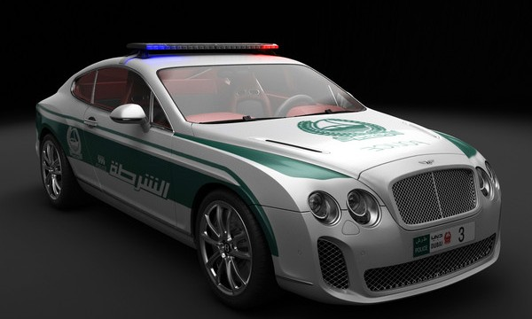 Dubai Police Car Bentley