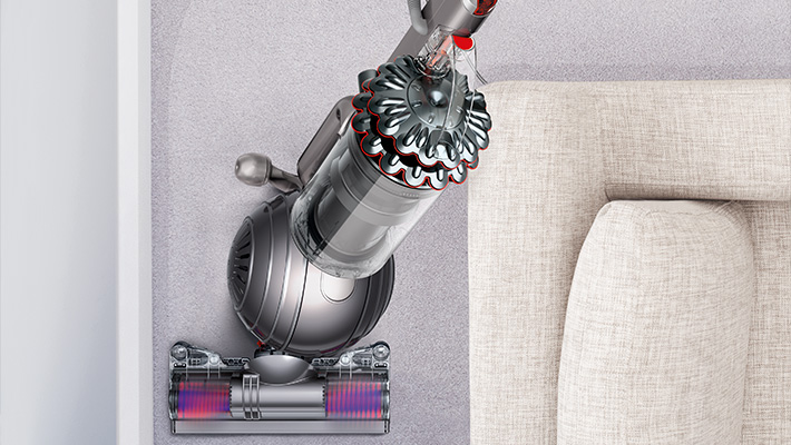 The Dyson Cinetic Big Ball Animal + Allergy upright vacuum cleaner. Rides on a ball - can be steered around furniture and into difficult places with a simple turn of the wrist.