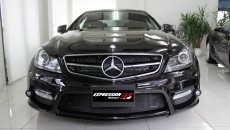 Expression Motorsport Wide Body Kit for Mercedes C-Class Coupe Front Grille