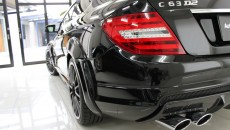 Expression Motorsport Wide Body Kit for Mercedes C-Class Coupe rear