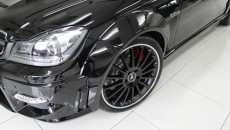 Expression Motorsport Wide Body Kit for Mercedes C-Class Coupe aerial