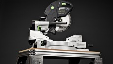 Festool Kapex Miter Saw miter position blade up