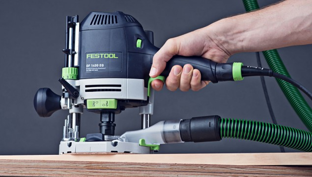 Festool OF 1400 Router side